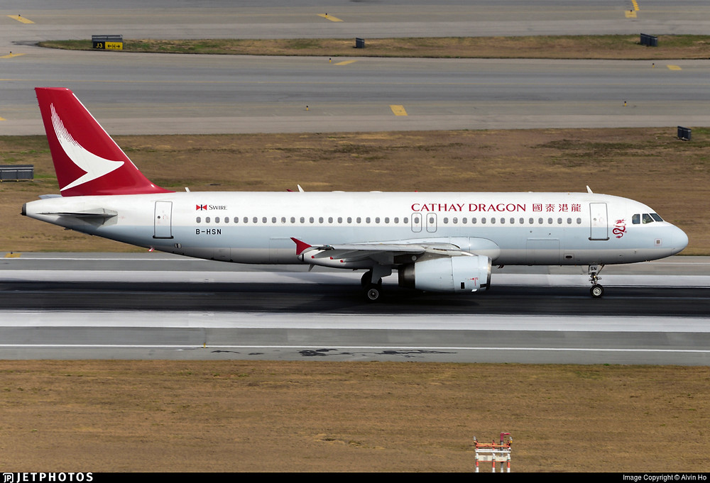 Cathay Dragon A320