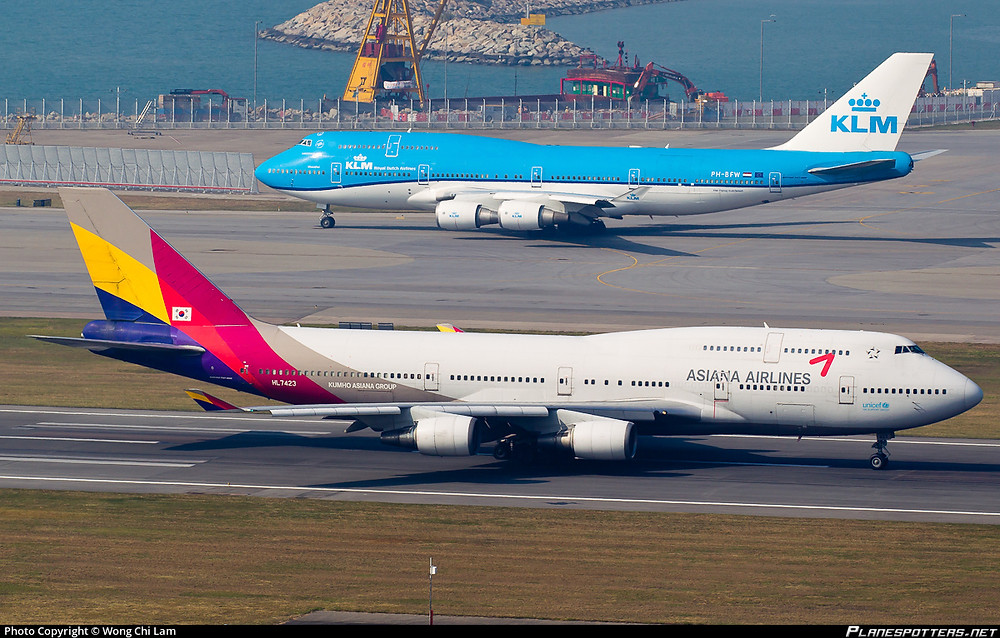 Asiana Airlines B747-400