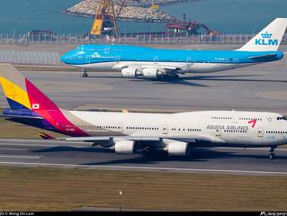 Asiana Plans Airbus A350 Service to Hong Kong
