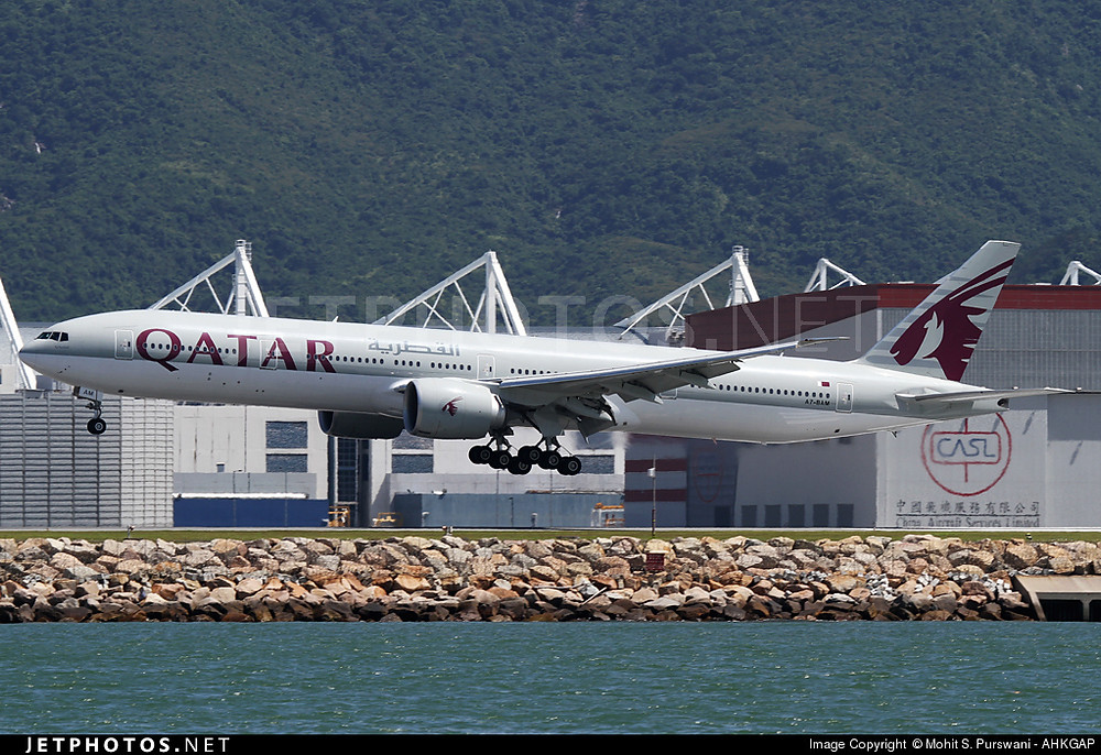 Qatar Airways B777-300ER