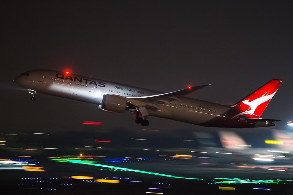 Qantas Airways B787-9 Dreamliner