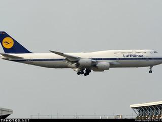 Lufthansa W17 Frankfurt - Hong Kong aircraft changes