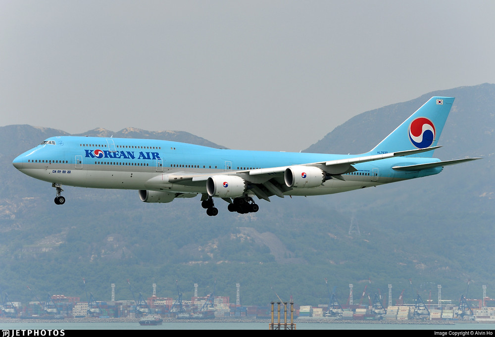Korean Air B747-8