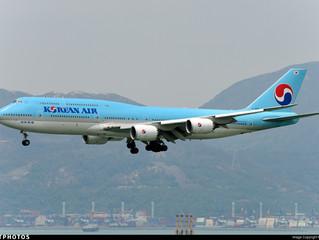 Korean Air Boeing 787 regional service in Oct 2017