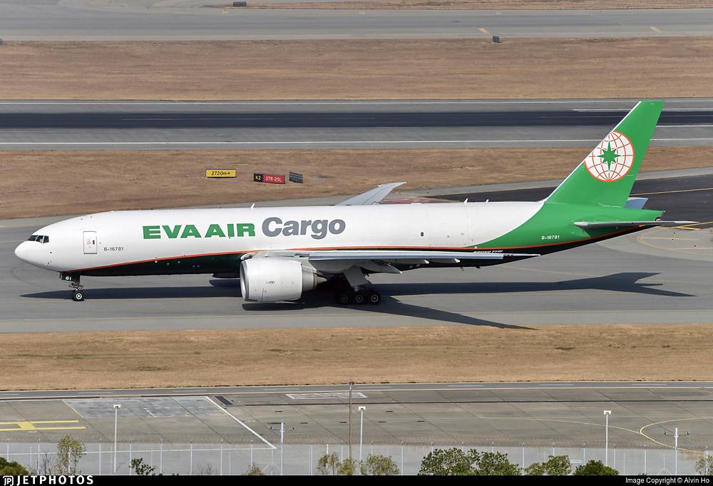 EVA Air Cargo B777F