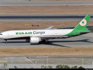 EVA Air Cargo S18 Boeing 777 Freighter operation