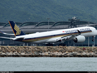 Singapore Airlines resumes A350 service to Hong Kong