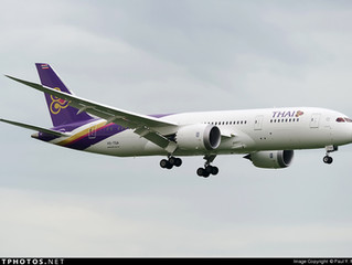 Thai Airways International W19 Hong Kong network adjustment