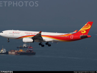 Hong Kong Airlines updates A350-900 regional service in September/October 2017