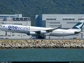 Cathay Pacific Tentative Final A340-300 Services