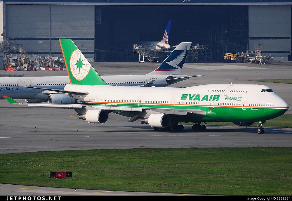 Eva Air B747-400