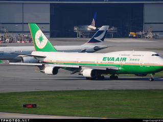 EVA Air planned last 747-400 scheduled flight in August 2017