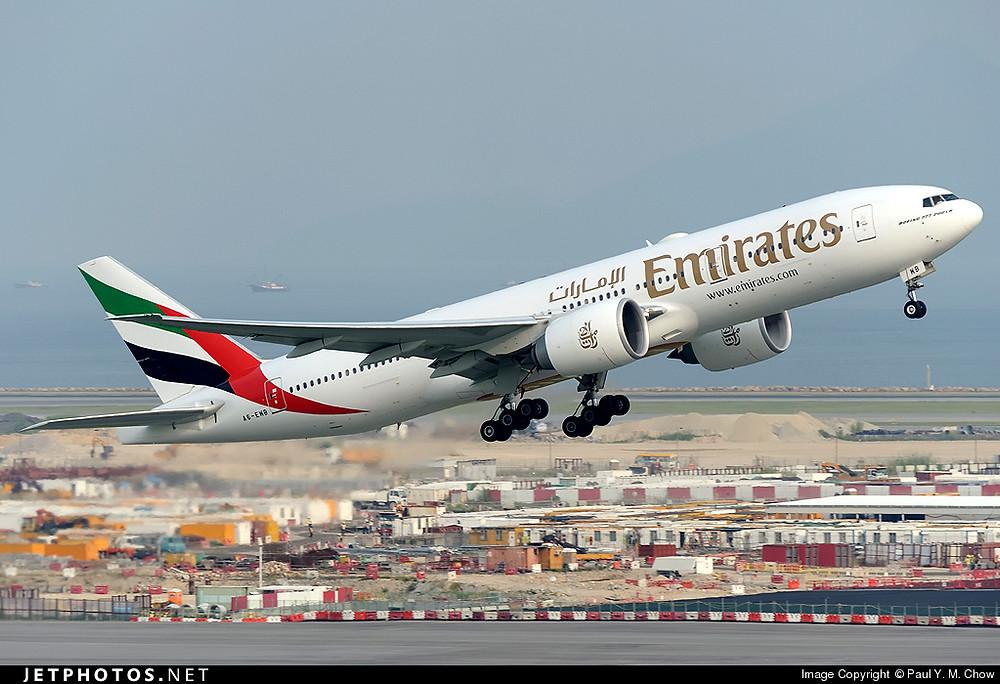 Emirates B777-200LR