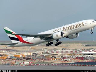 Emirates B777-200LR service Hong Kong during S17
