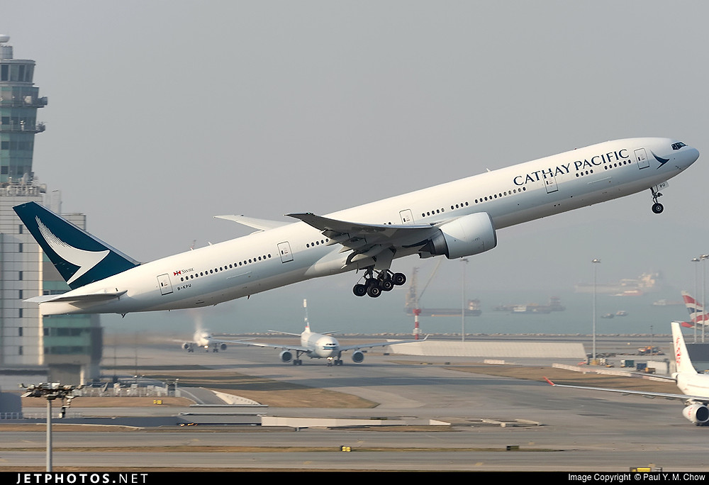 Cathay Pacific Airways B777-300ER