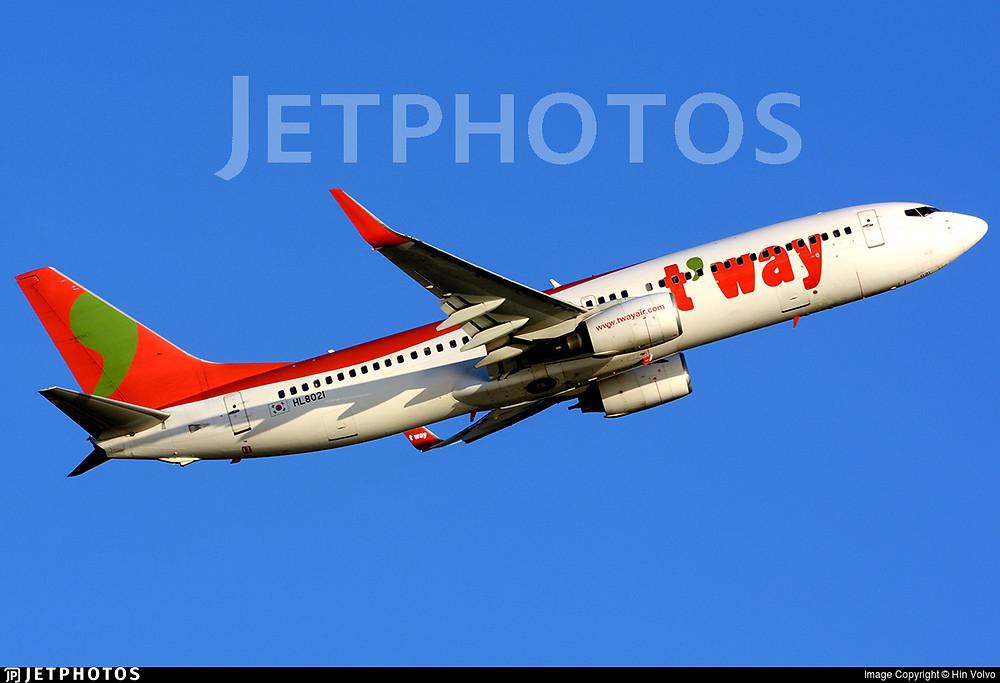 T'Way Air B737-800