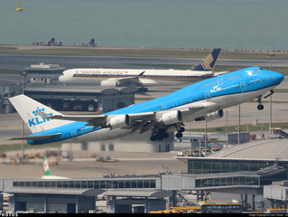 KLM long haul service changes in winter schedule