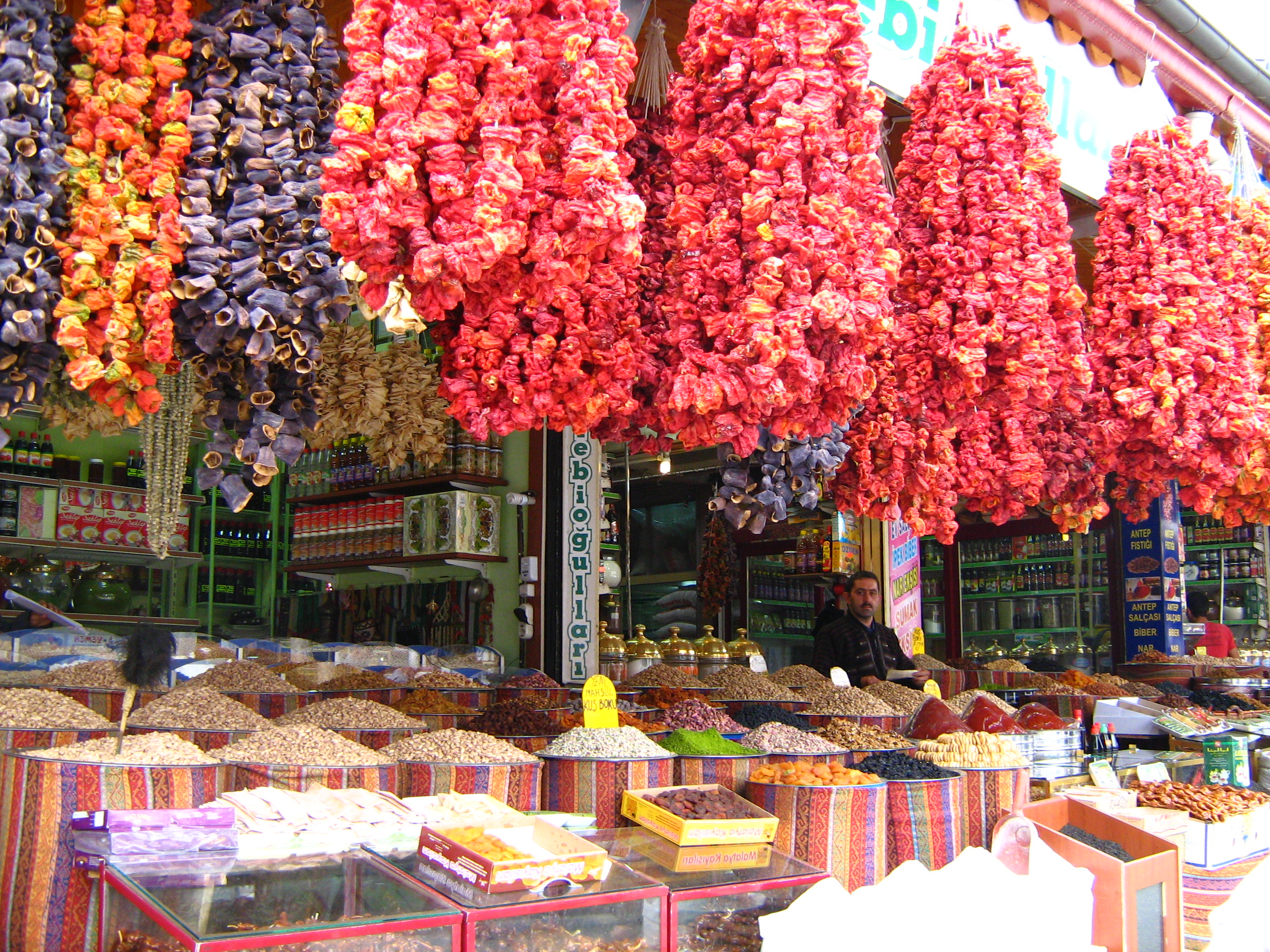 Colorful Bazaars of Turkey