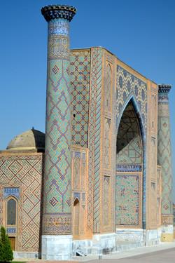 Registan- Samarkand, Uzbekistan