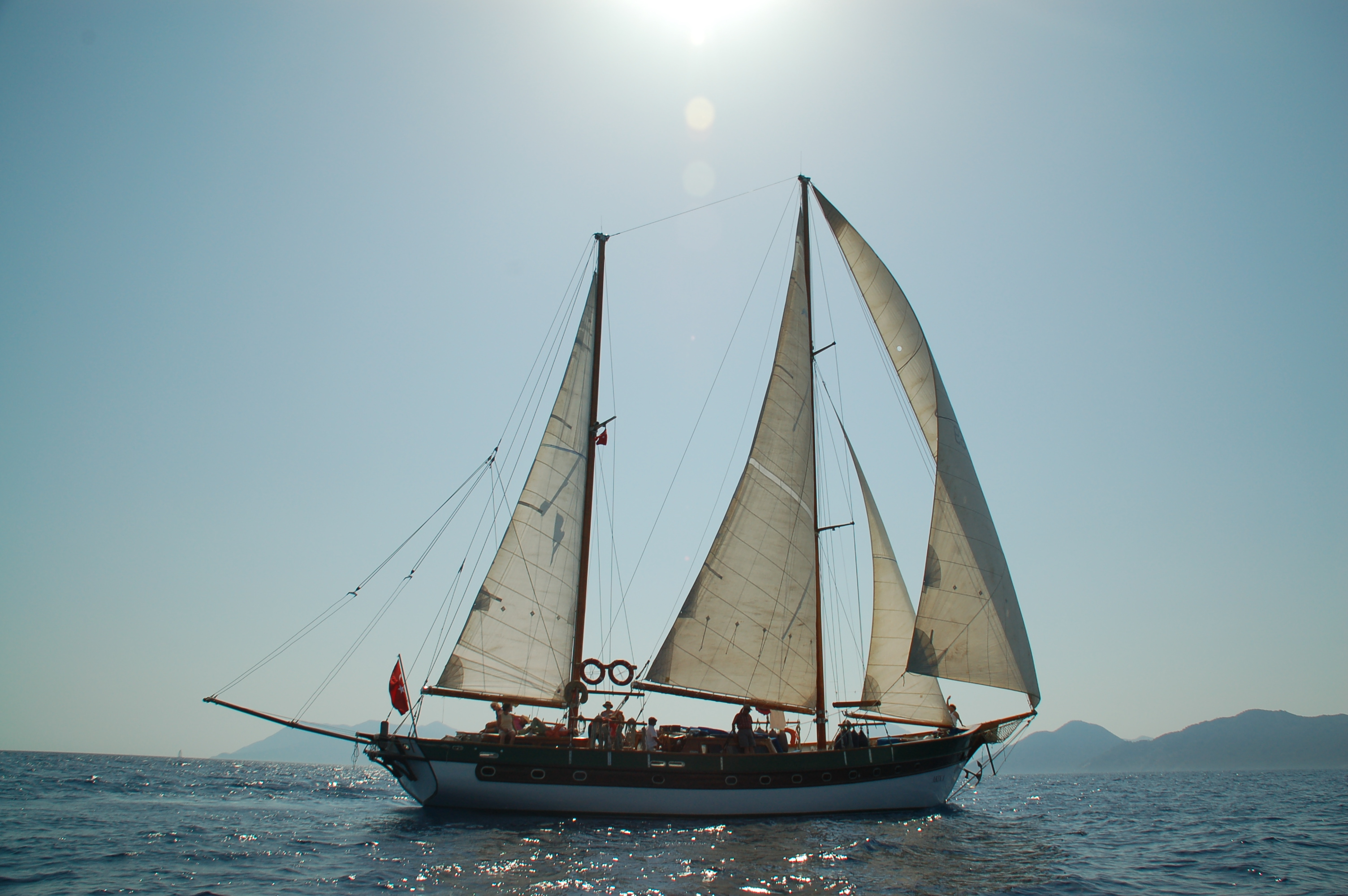 Under Sail, Turkey