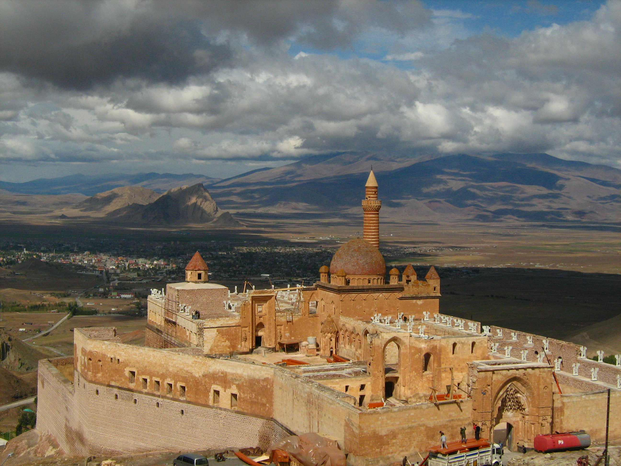 Isak Pasha Palace, Turkey