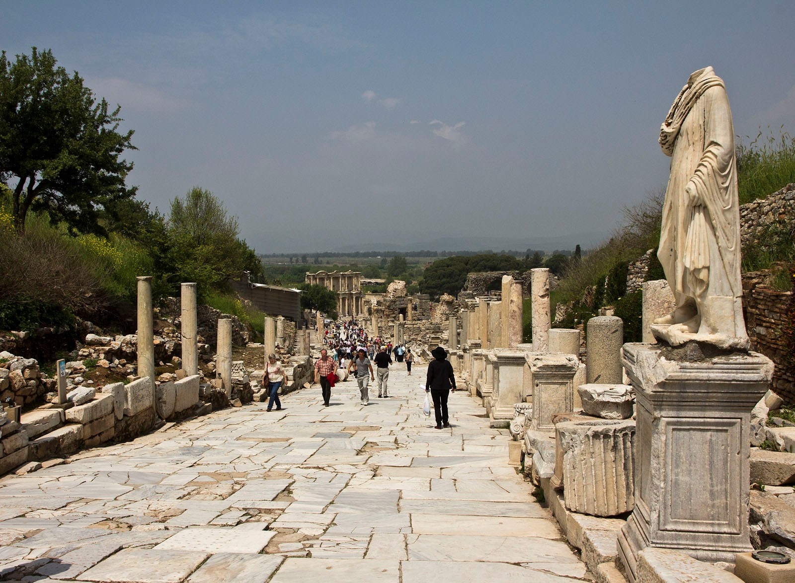 Ephesus- Main Street, Turkey