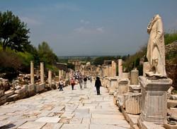 Ephesus- Main Street, Turkey