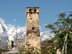 Svaneti Towers-High Caucasus,Georgia