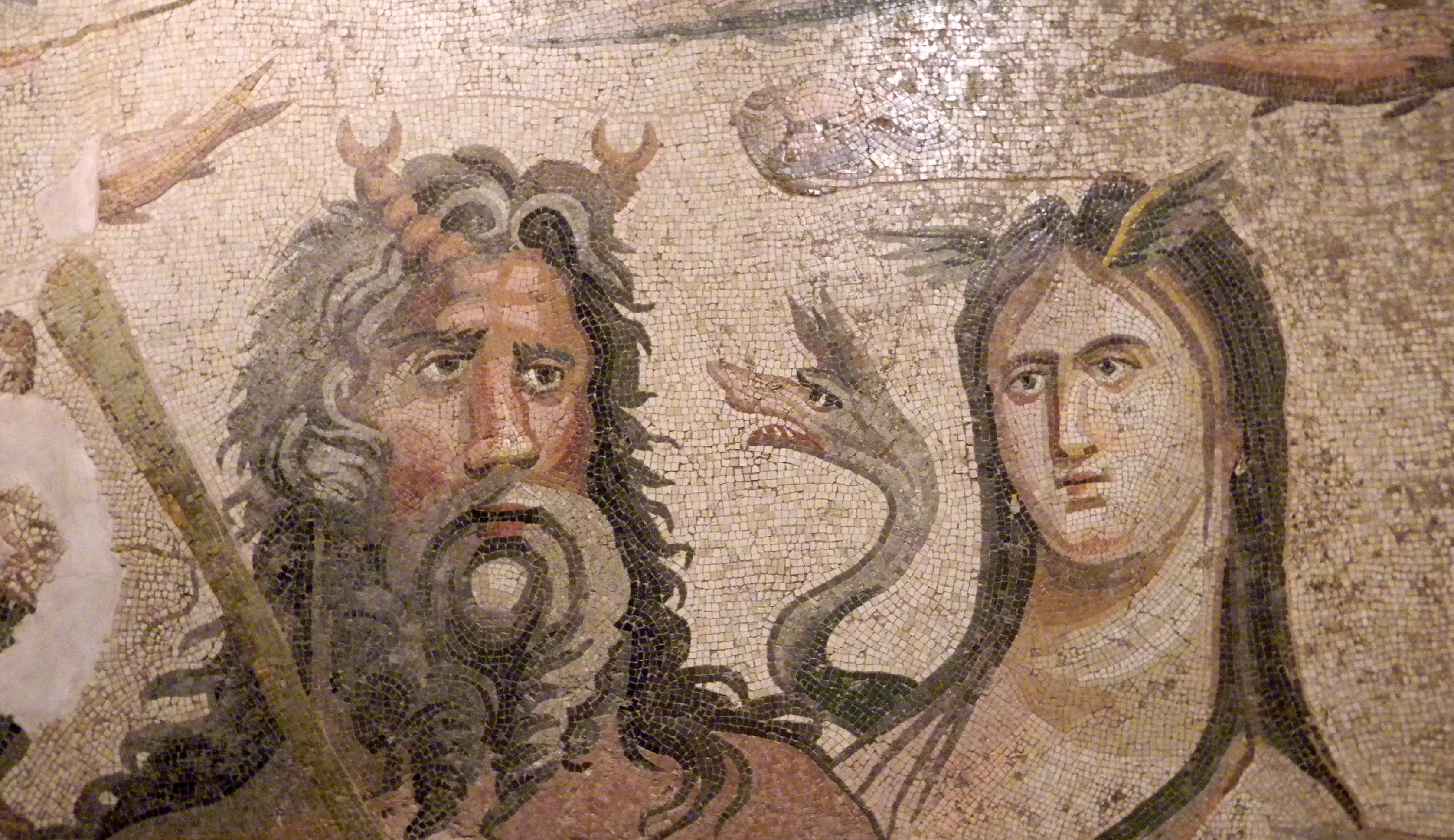 Mosaics of Antakya Museum, Turkey