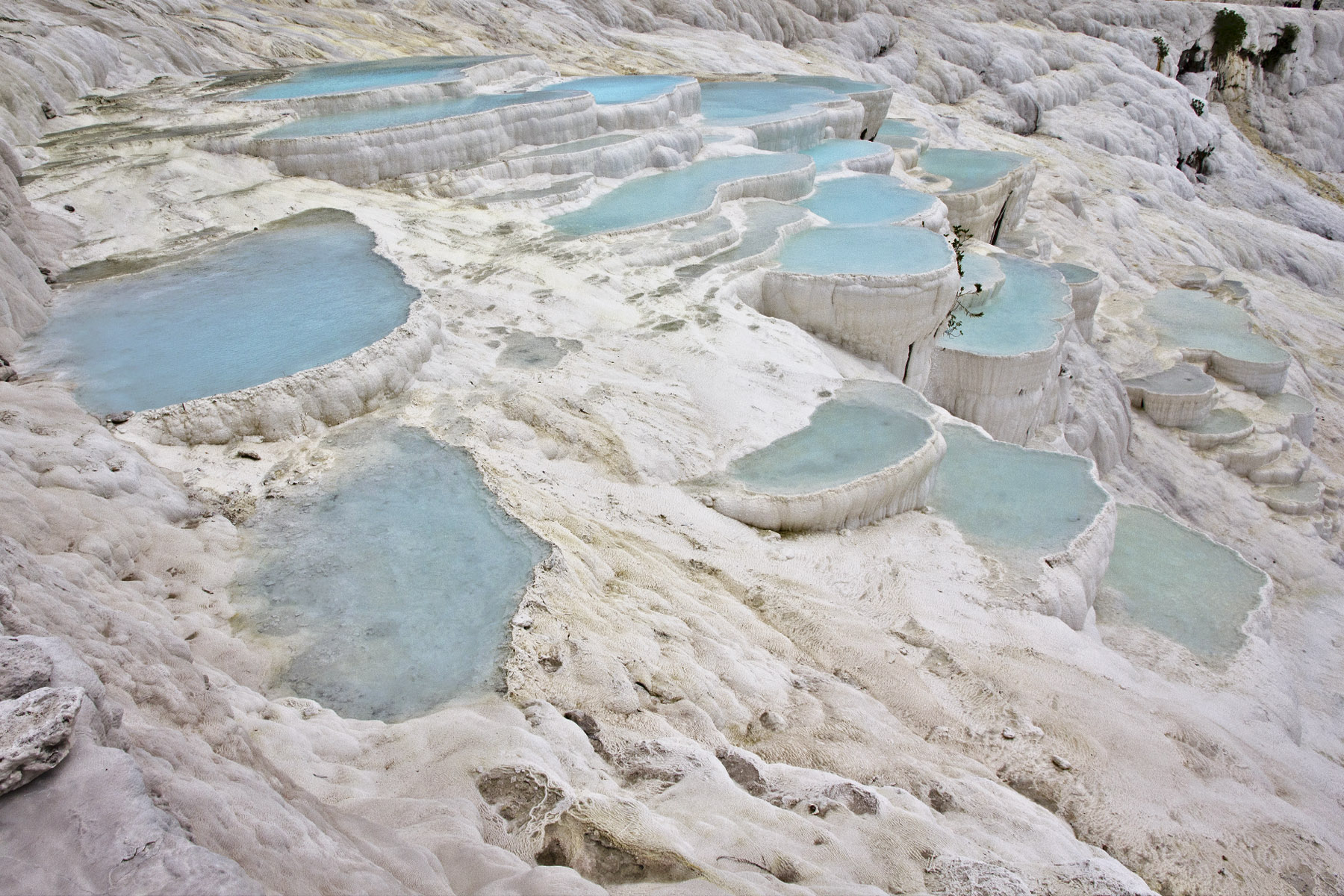 Pamukkale- mineral pools, Turkey
