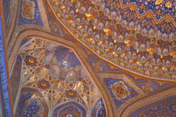 Interior decorations-Central Asia