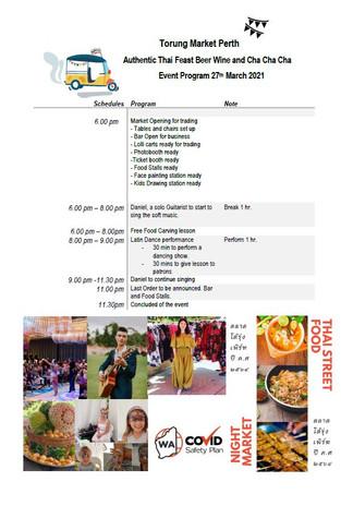 Event Programe