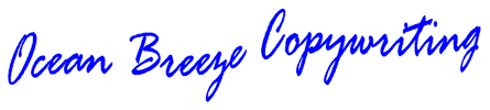 Ocean Breeze Copywriting specializes in email newsletters and direct mail promotions.