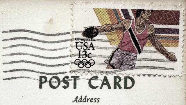 postcard photo