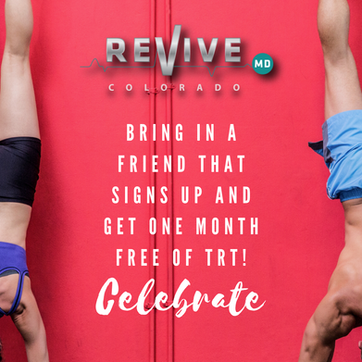 Revive MD Colorado, Hormome replacement, Low Testosterone Colorado, PRP, BHRT, Stem Cell Therapy, Naked Tree Media