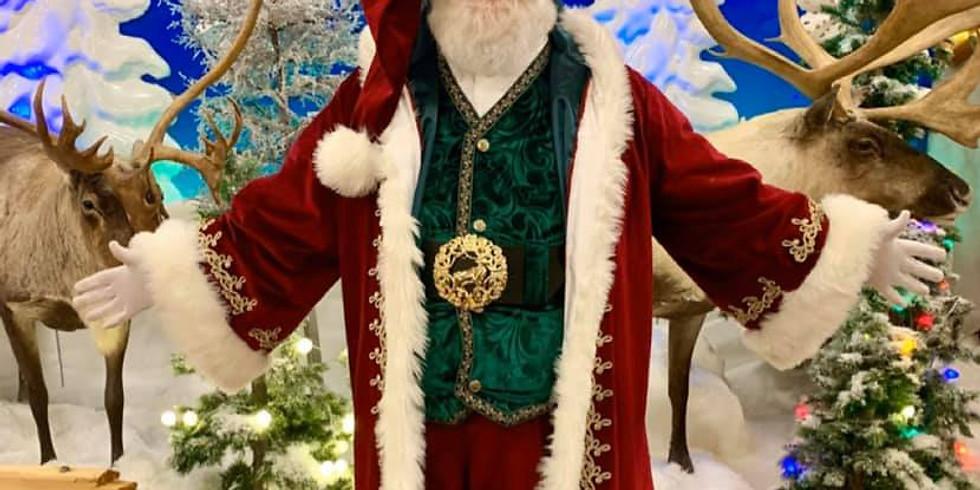 Santa at CPN HOA1