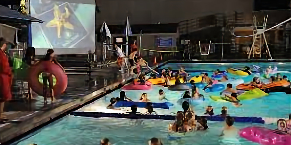 Pool Movie Night