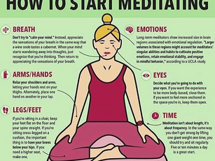 How to start meditating.