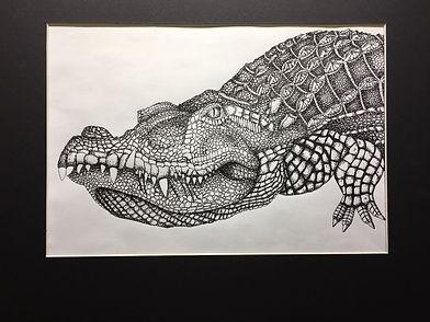 Crocodile by Peyton Robinette 11 gr GEHS
