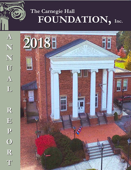 2018 CH Foundation Annual Report-COVER1.