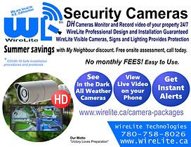 Neighborhood Security Cameras - FRONT (3