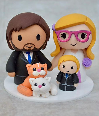 #family #weddingcaketopper #weddingcake