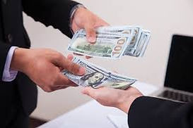handing you Cash at A1 LOANS USA