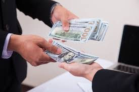 Counting Cash AT A1 LOANS USA