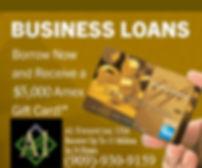a1 financial free amex gift card ad
