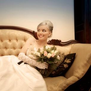 Bridal Hair up  and Natural Airbrush Makeup