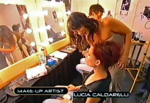 Melbourne hair and makeup artist Lucia Caldarelli from Les Couleurs Hair and Makeup Melbourne