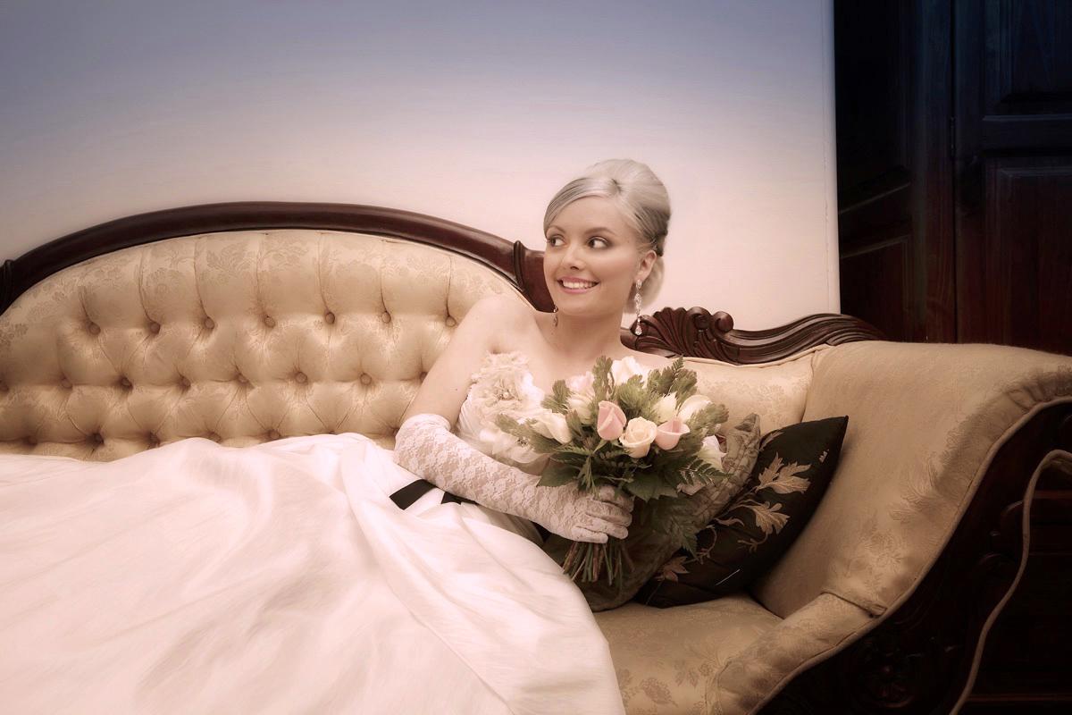 Bridal wedding hair and airbrush makeup airbrush