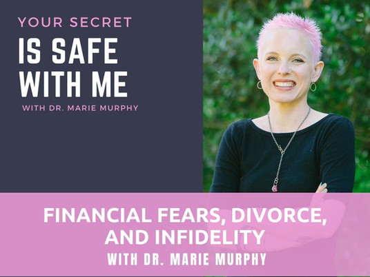 Financial Fears, Divorce, and Infidelity