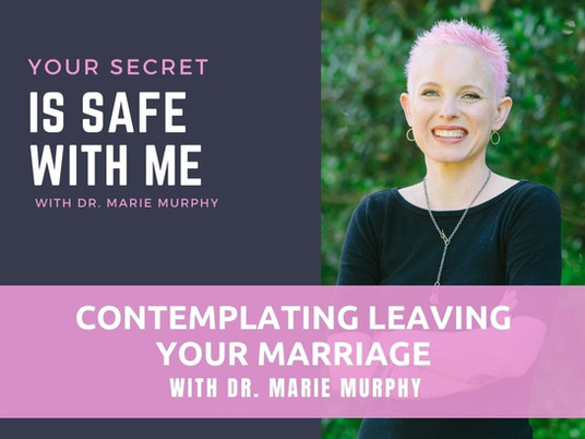 Contemplating Leaving Your Marriage